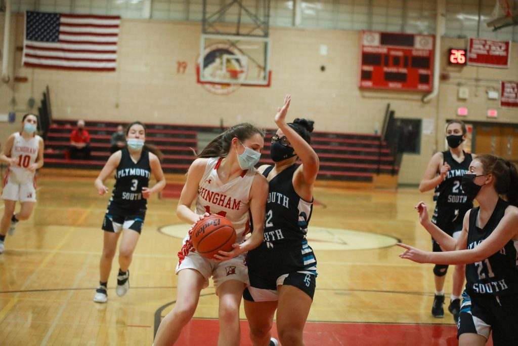 Junior captain Caroline Connelly had 12 points in the win.