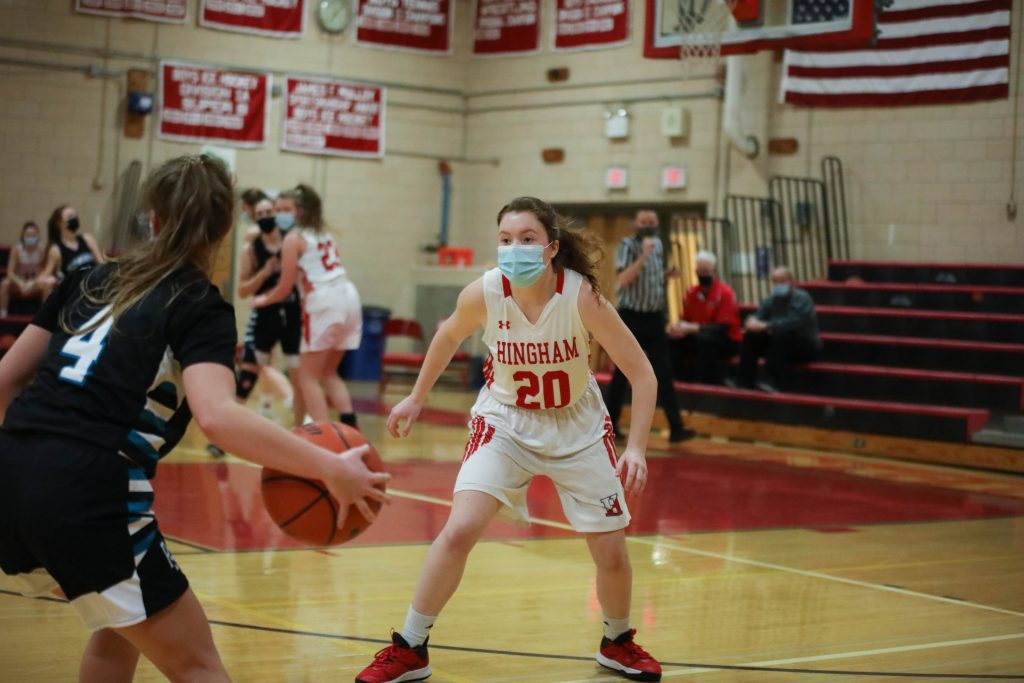 Madison Aylward and the rest of the team played outstanding defense.