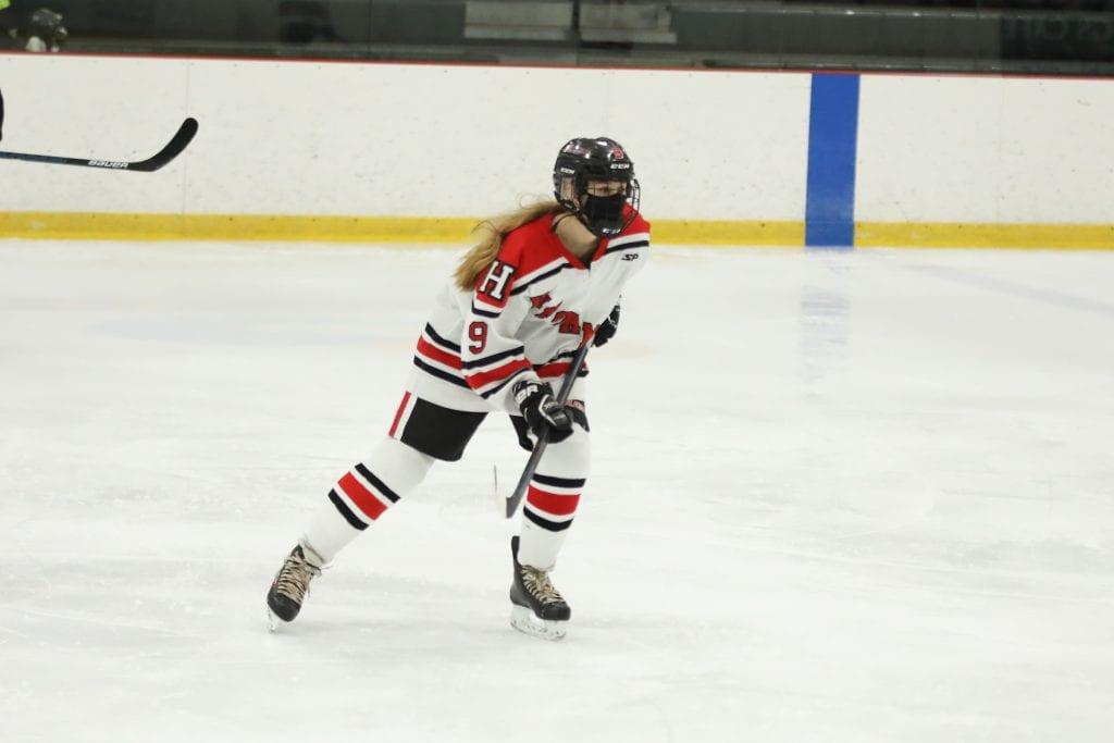 Freshman Isabel McCabe.