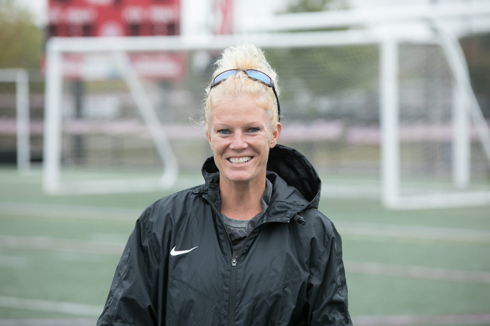 Sarah Dacey is currently the head coach of HHS girls soccer and recently started Next Level Athletic Advising with her wife Mary-Francis.