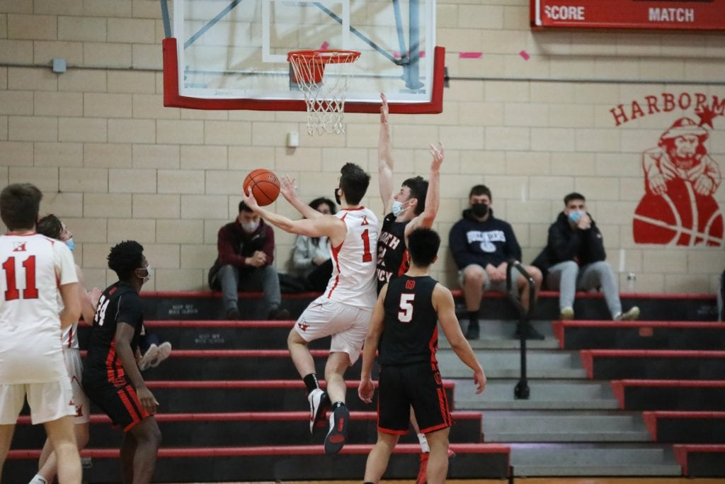 Senior Jack McBride once again comes in off the bench giving his team enegry, and points.
