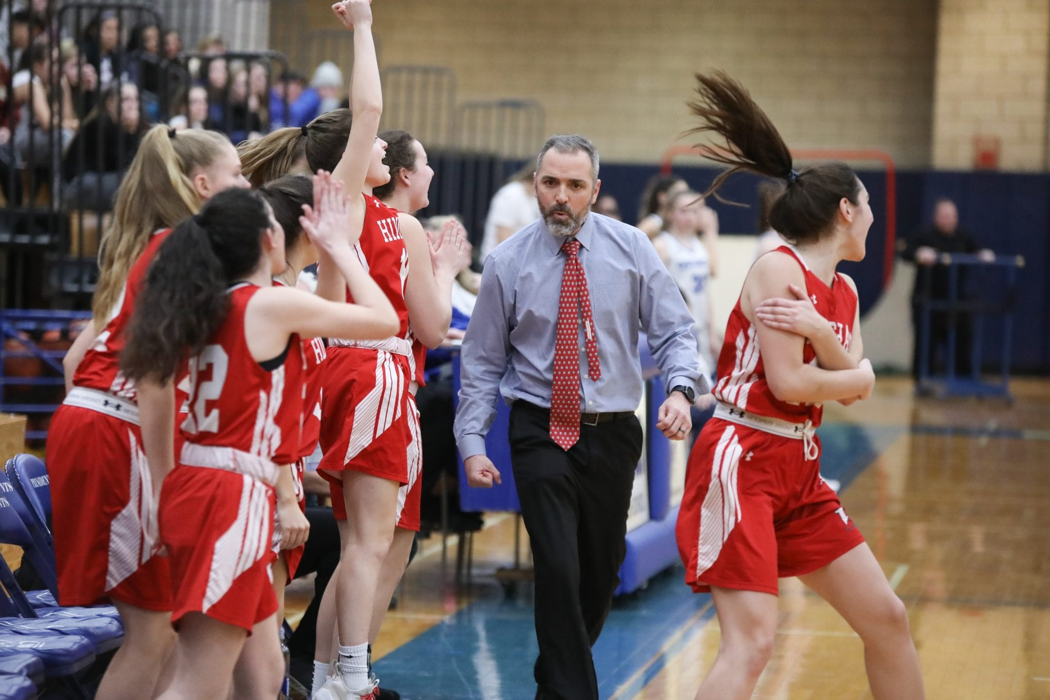Former Girls Head Basketball Coach Eugene Buczynski brought a program from the basement to the top of the Patriot League in his 8 years at HHS.