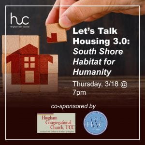 Let's Talk Housing 3.0: South Shore Habitat for Humanity @ Zoom
