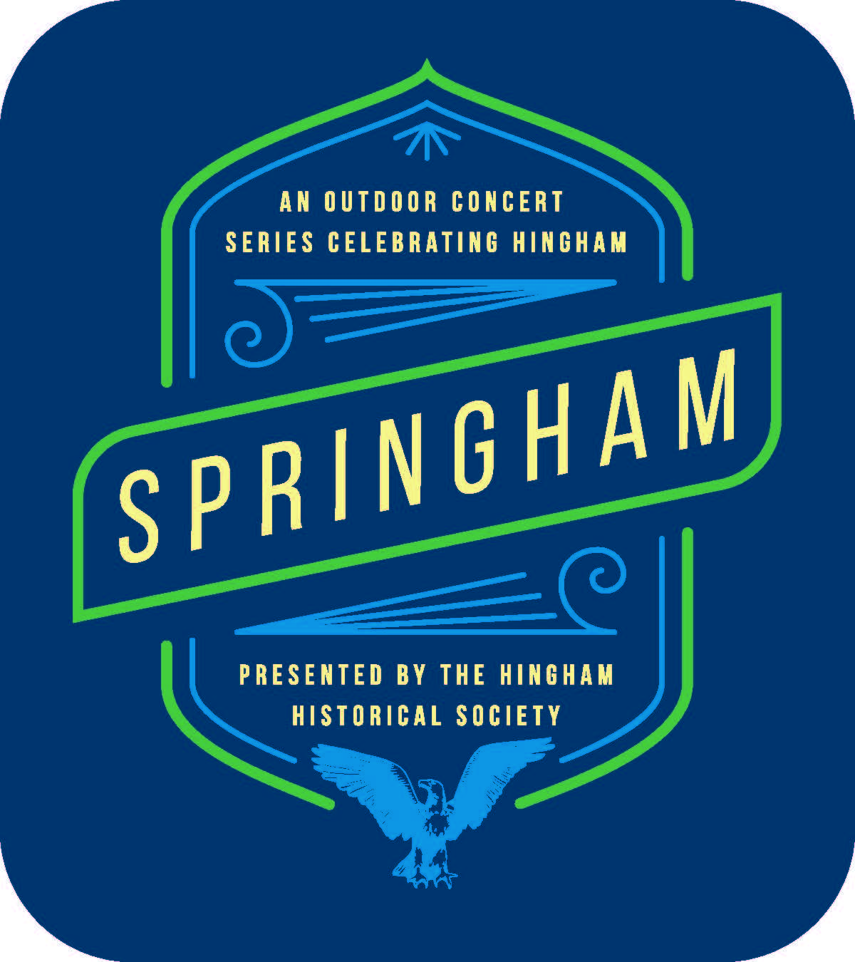 Springham Badge Blue