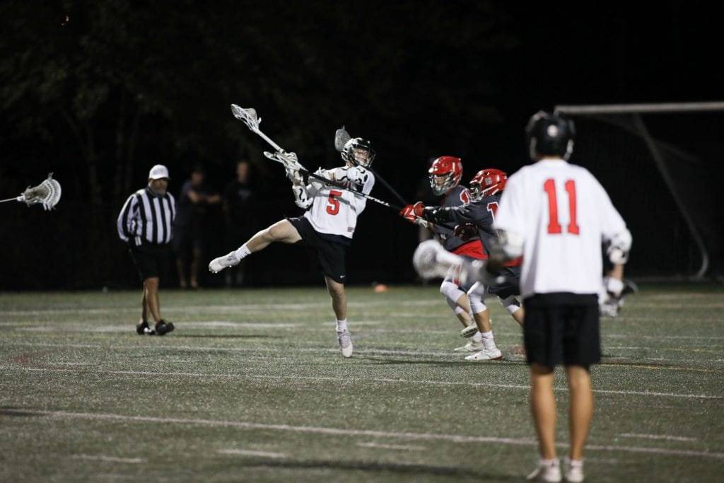Junior Cal Crawford takes a shot late in the game.