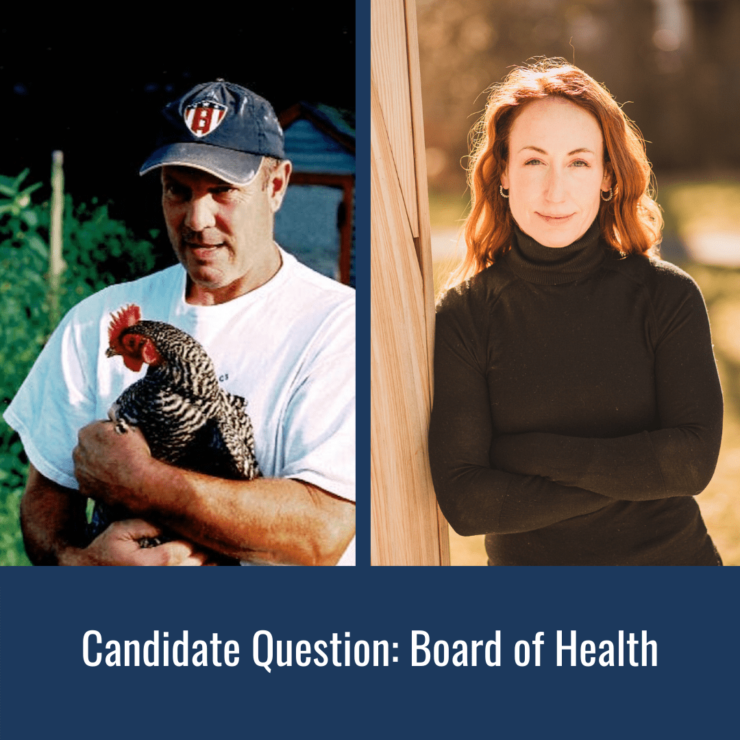 Candidate Question Board of Health