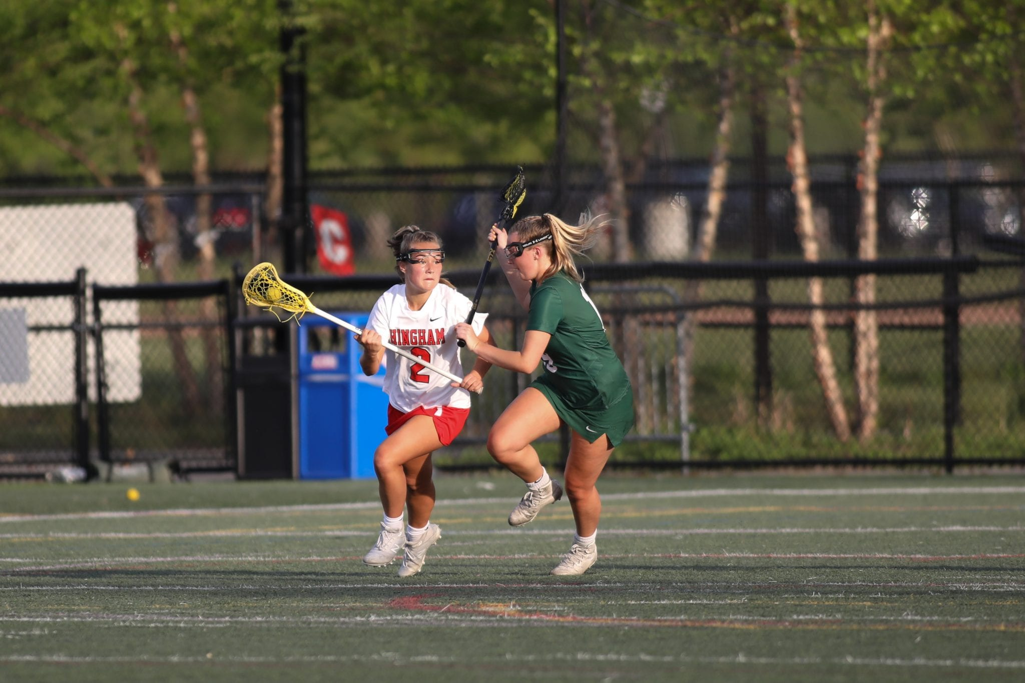 Junior Shea Berigan scored her 100th career point in just under two seasons.  (File photo)