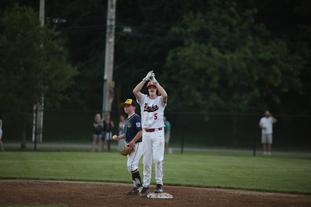 Dan Nichols also got it done at the plate with a double of his own.