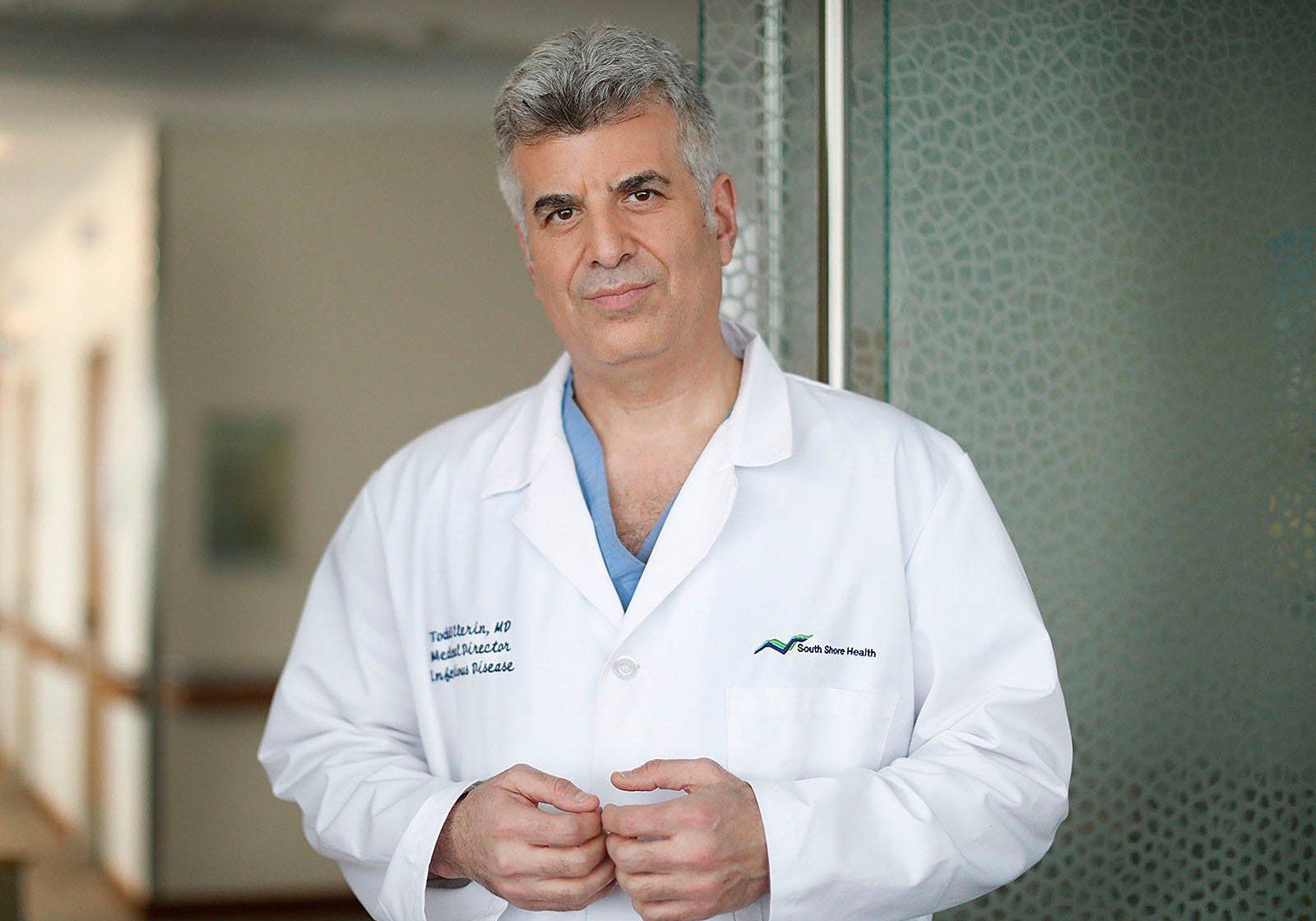 Todd Ellerin, MD. Photo courtesy of South Shore Health.