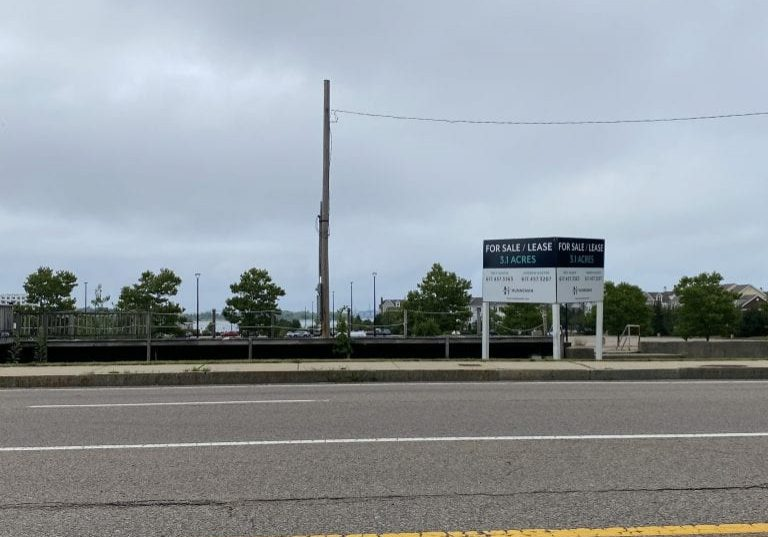 Site proposed for a potential new Hingham Public Safety Facility.